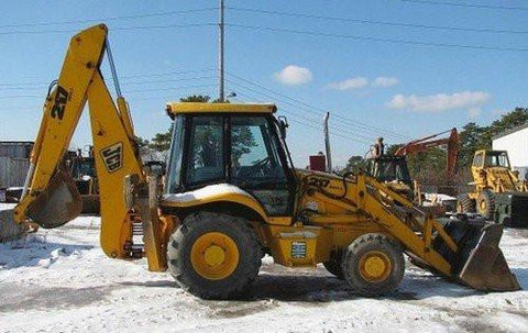 1984 JCB 3cx 4cx Backhoe Loader Parts Catalog Manual