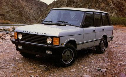 1987-1992 RANGE ROVER WORKSHOP SERVICE MANUAL