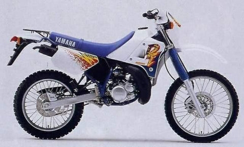 1987-1993 Yamaha TZR125, 1988-2002 DT125R Workshop Repair Service Manual