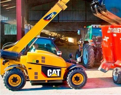 caterpillar cat th255 telehandler operation and maintenance manual download