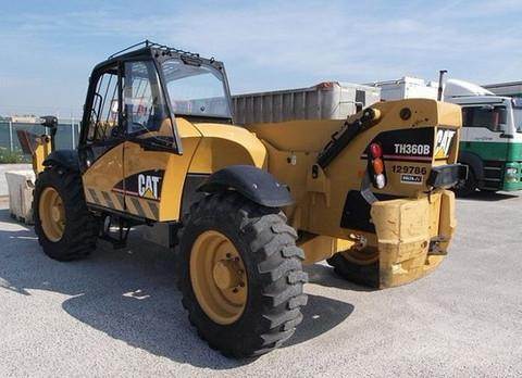 CATERPILLAR CAT TH360B TH560B TELEHANDLER SERVICE REPAIR WORKSHOP MANUAL