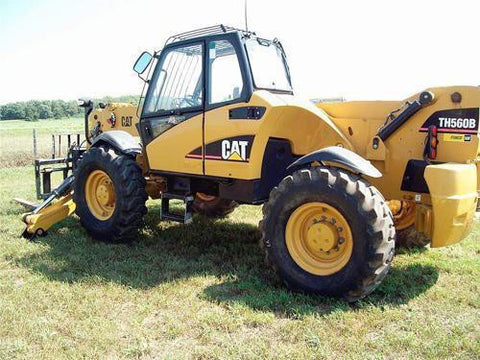 Caterpillar Cat TH560B Telehandler Parts Manual Download
