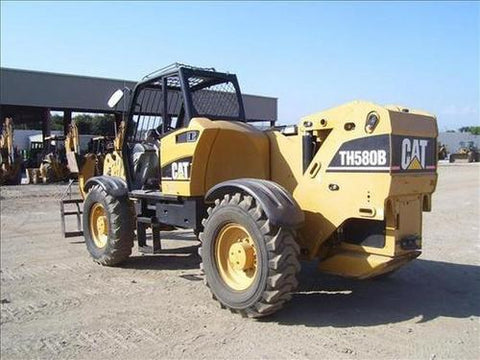 Caterpillar Cat TH580B Telehandler Operation and Maintenance Manual DOWNLOAD
