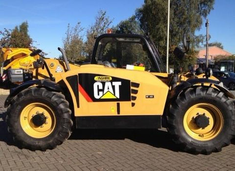 Caterpillar Cat TH336C TH337C TH406C TH407C TH414C TH514C TH417C Telehandler Operation and Maintenance Manual DOWNLOAD