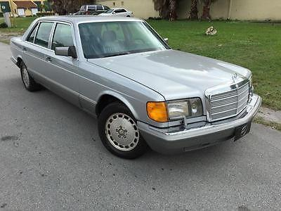 1987 MERCEDES BENZ 300SDL REPAIR MANUAL