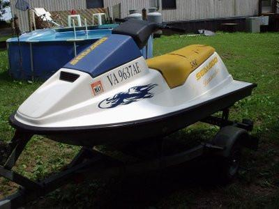 1989 SeaDoo Sea-Doo Personal Watercraft Service Repair Workshop Manual DOWNLOAD