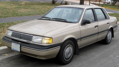 1990  Mercury Topaz Workshop Service Repair Manual