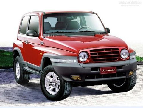 1991-2000 Ssangyong Musso Service Repair Workshop Manual Download