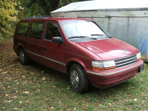 1992 Plymouth Voyager Service & Repair Manual