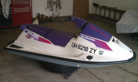 1992 SeaDoo Sea-Doo Personal Watercraft Service Repair Workshop Manual DOWNLOAD