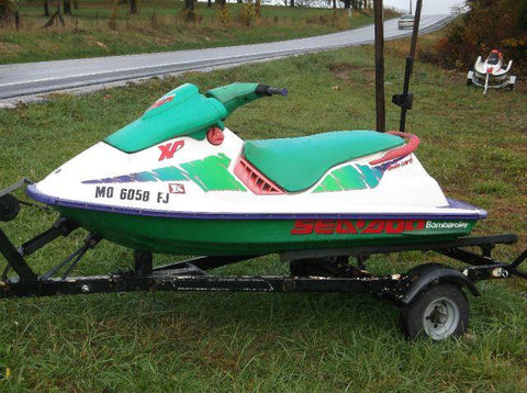 1993 SeaDoo Sea-Doo Personal Watercraft Service Repair Workshop Manual DOWNLOAD