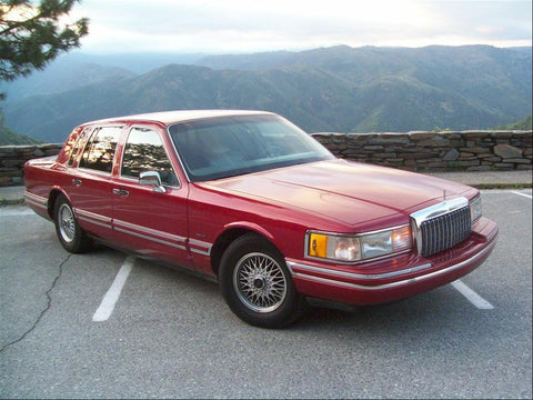 1994 Lincoln Town Car Workshop Service Repair Manual