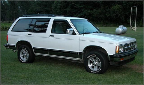 1994 Chevrolet Blazer Workshop Service Repair Manual