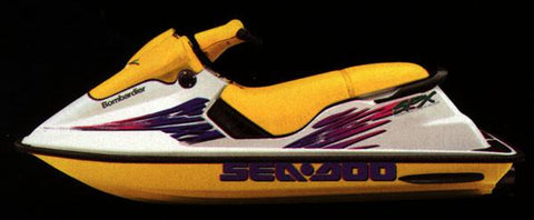 1997 SeaDoo Sea-Doo Personal Watercraft Service Repair Workshop Manual DOWNLOAD