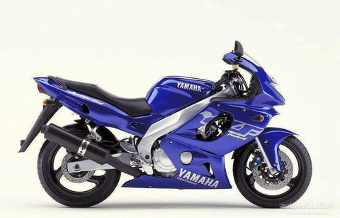 1997 Yamaha YZF600R Combination manual for model years 1997 ~ 2007