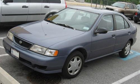 1998 nissan sentra owners manual