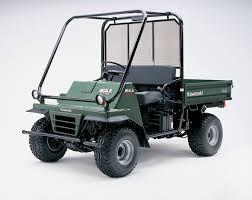 2000-2002 KAWASAKI KAF950 MULE 2510 DIESEL ATV REPAIR MANUAL