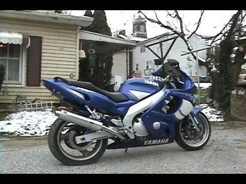 2000 Yamaha YZF600R Combination manual for model years 1997 ~ 2007