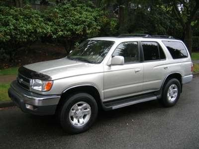 2000 Toyota 4Runner Workshop Service Repair Manual