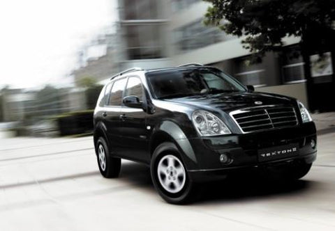 2001-2003 Ssangyong Rexton Service Repair Workshop Manual Download (2001 2002 2003)