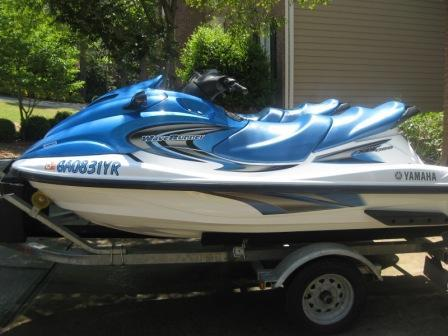 2001-2004 YAMAHA XLT800 WAVERUNNER PERSONAL WATERCRAFT
