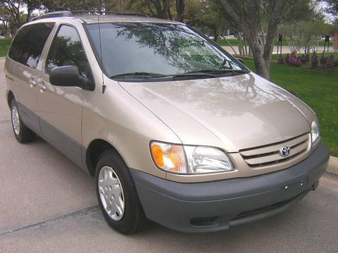 2000 toyota sienna service manual