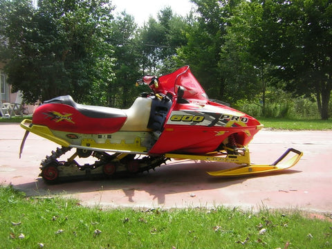 2001 POLARIS 440 500 600 700 800 EDGE PRO X XC XCF SC SP RMK SNOWMOBILE SUPPLEMENTAL