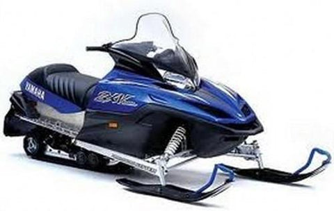 2001 Yamaha VX700F VX700DXF SX700F MM700F VT700F Snowmobile Service Repair Factory Manual INSTANT DOWNLOAD