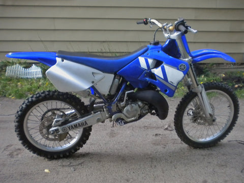 2001 Yamaha YZ125 Owner's Motorcycle Service Manual