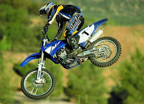 2001 Yamaha YZ250F Owner's Motorcycle Service Manual
