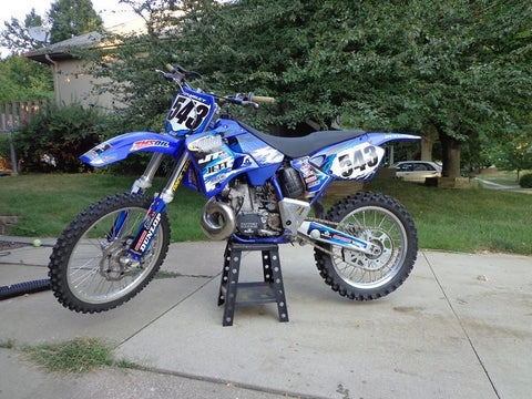 2001 Yamaha YZ250 Owner's Motorcycle Service Manual