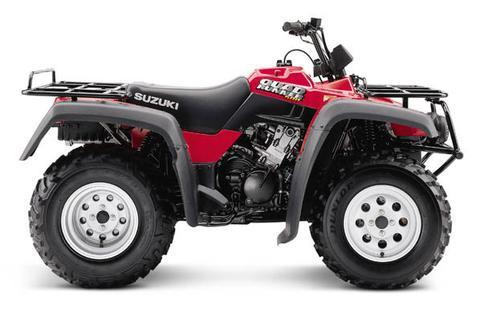 1999-2002 Suzuki LT-F250 QuadRunner ATV Parts List Manual PDF