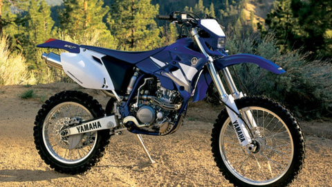 2002 Yamaha WR250F Owner's / Motorcycle Service Manual