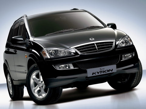 2003-2005 Ssangyong Kyron Service Repair Workshop Manual Download (2003 2004 2005)