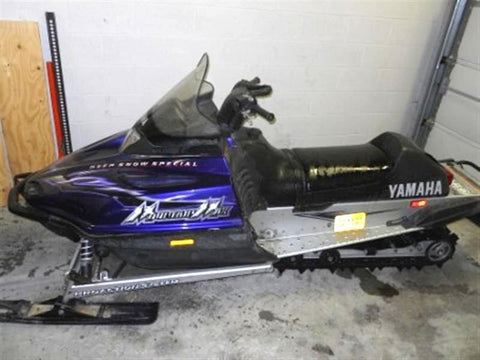 2003 Yamaha VENTURE 700 / VMAX 700ER / 700 DELUXE / MOUNTAIN MAX 700 / SRX700R Snowmobile Service  Repair Maintenance Overhaul Workshop Manual