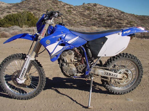 2003 Yamaha WR250F Owner's / Motorcycle Service Manual