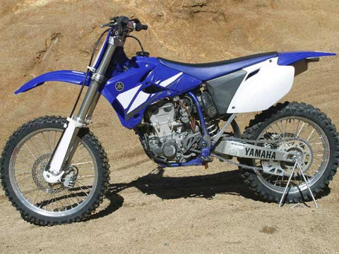 2003 Yamaha WR450F Owner's / Motorcycle Service Manual