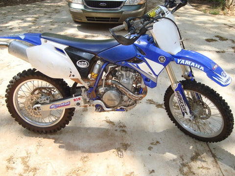 2003 Yamaha YZ450F Owner's / Motorcycle Service Manual