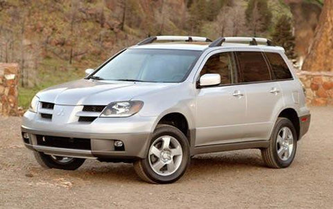 2004 Mitsubishi Outlander Service Repair Workshop Manual Download