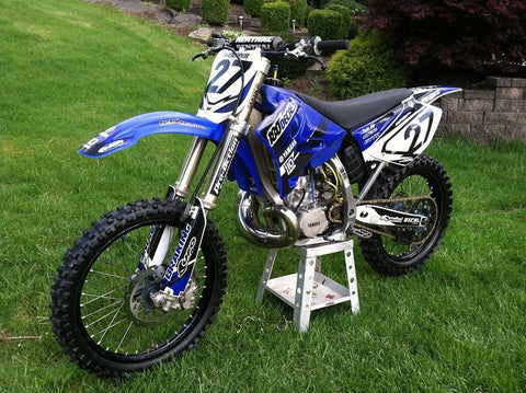 2005 YAMAHA YZ250 2-STROKE MOTORCYCLE REPAIR MANUAL
