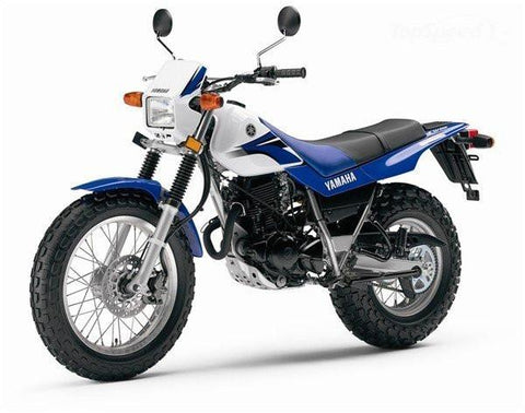 2007 Yamaha TW200 Combination manual for model years 2001 ~ 2012