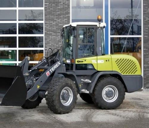 2010 Terex Wheel Loader TL80 Operating Manual Download