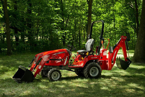 2017 Massey Ferguson GC1720 TLB Sub Compact Tractor Workshop Service Repair Manual