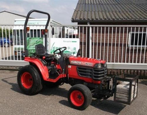 Kubota B2100D Tractor Illustrated Master Parts List Manual DOWNLOAD