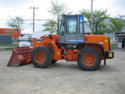Hitachi Lx70-7, Lx80-7, Tcm L13-3, Tcm L16-3 Wheel Loader Complete Workshop Service Repair Manual