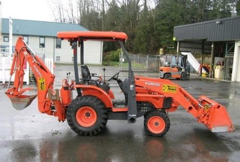 Kubota B1550HST D Tractor Illustrated Master Parts List Manual DOWNLOAD