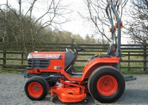 Kubota B1700D Tractor Illustrated Master Parts List Manual DOWNLOAD