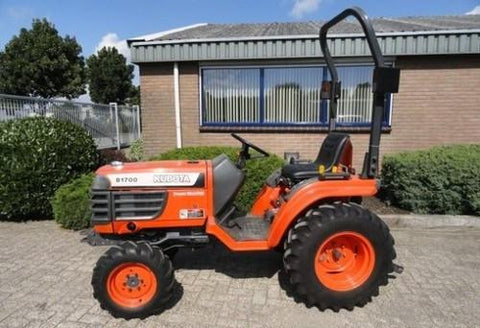 Kubota B21 Tractor Illustrated Master Parts List Manual DOWNLOAD