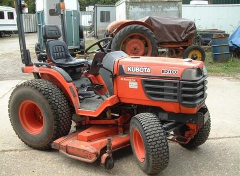Kubota B2100HSD Tractor Illustrated Master Parts List Manual DOWNLOAD