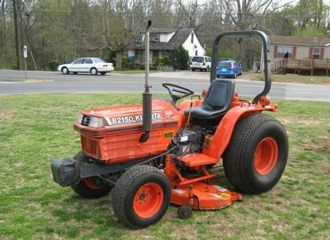 Kubota B2100E Tractor Illustrated Master Parts List Manual DOWNLOAD